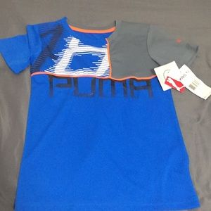 🦋NWT PUMA Skyblue Kids Shirt🦋